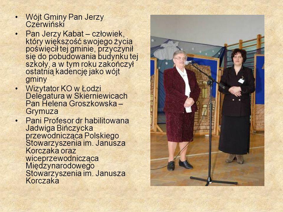 Wójt Gminy Pan Jerzy Czerwiński