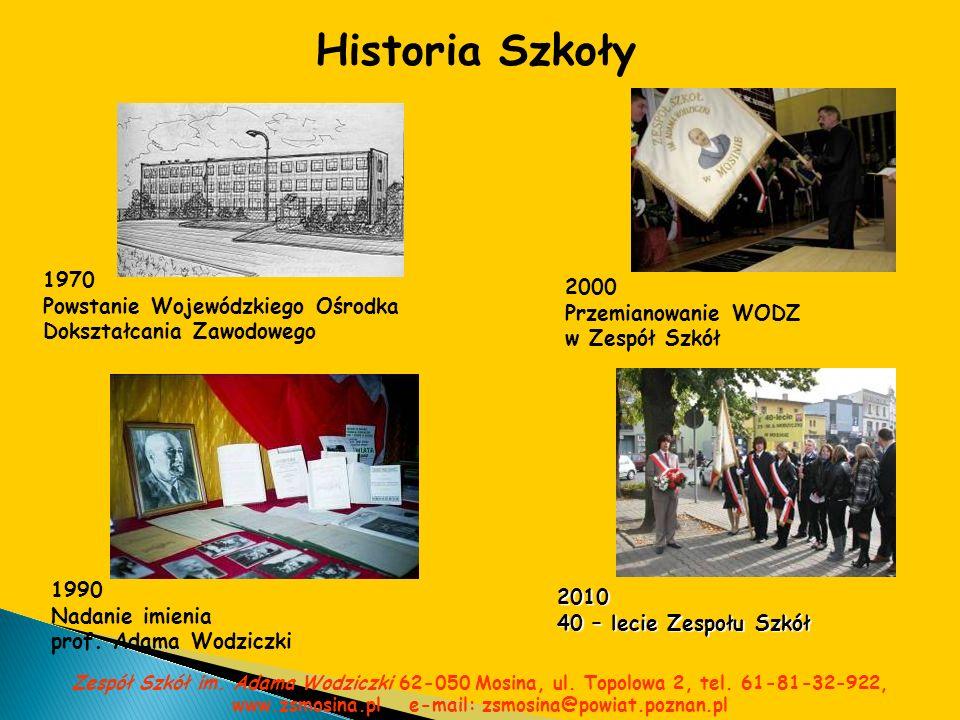 Historia Szkoły 1970 2000 Powstanie Wojewódzkiego Ośrodka