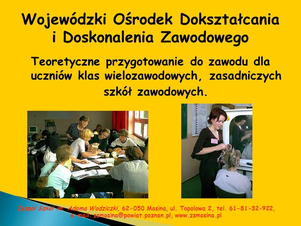 Wojewódzki Ośrodek Dokształcania i Doskonalenia Zawodowego