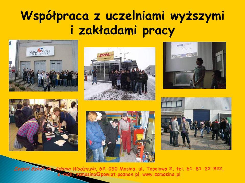 Współpraca z uczelniami wyższymi i zakładami pracy
