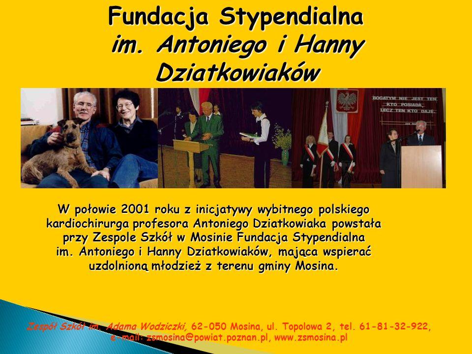 Fundacja Stypendialna im. Antoniego i Hanny Dziatkowiaków