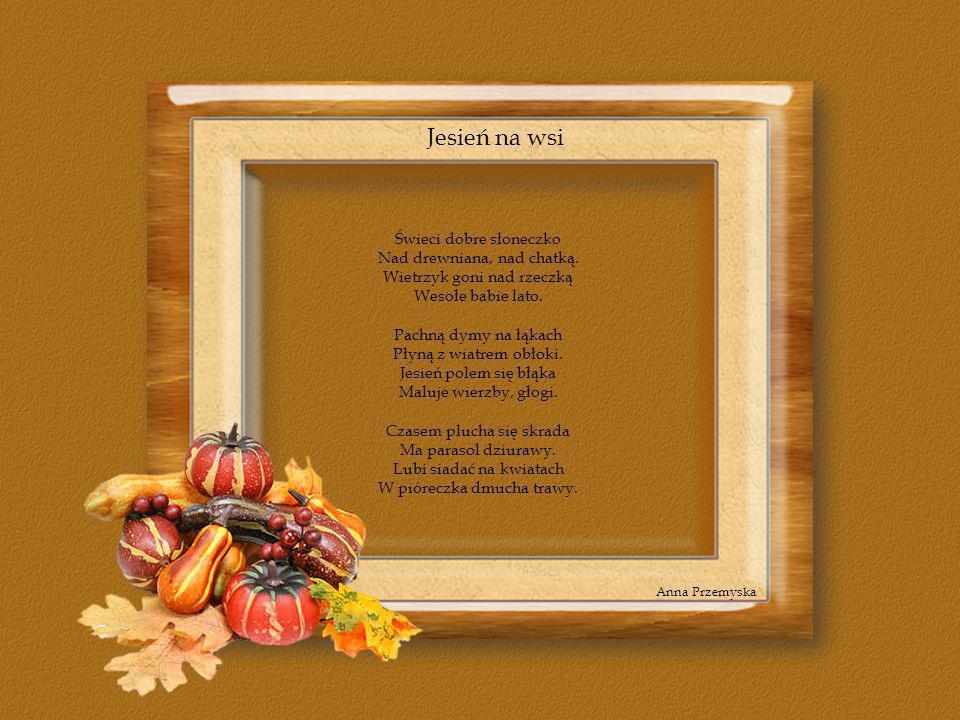 Jesień na wsi