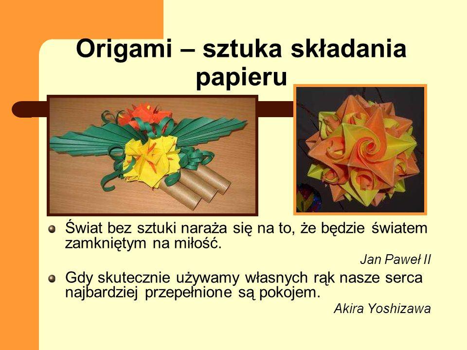 Origami – sztuka składania papieru