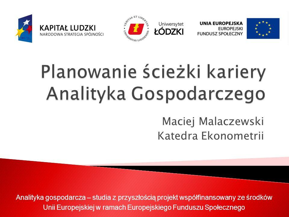 Planowanie ścieżki kariery Analityka Gospodarczego