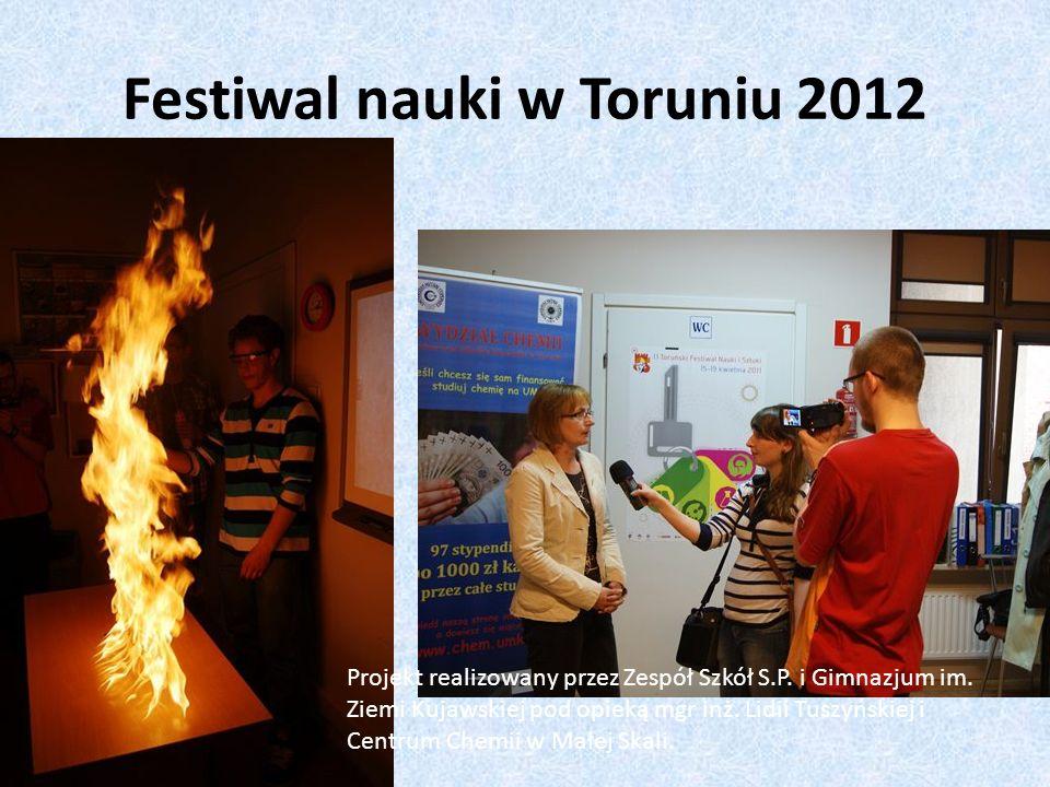 Festiwal nauki w Toruniu 2012
