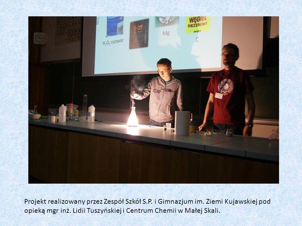 Projekt realizowany przez Zespół Szkół S. P. i Gimnazjum im