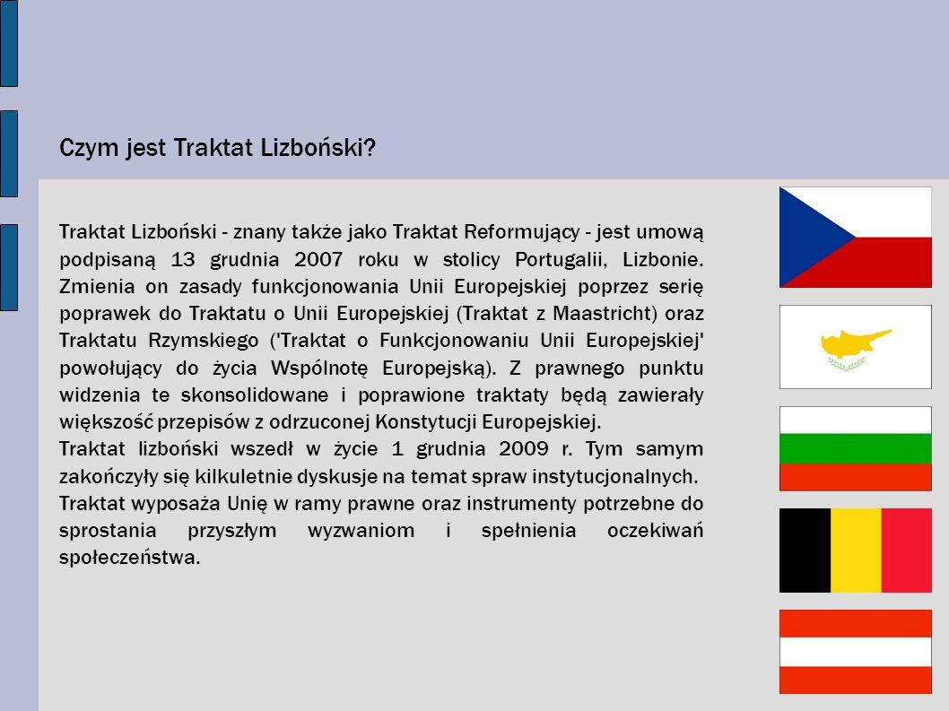 Czym jest Traktat Lizboński
