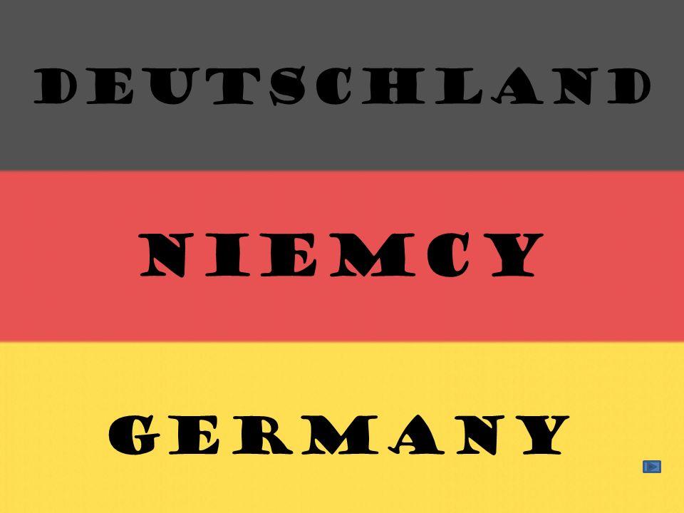 Deutschland Niemcy GERMANY