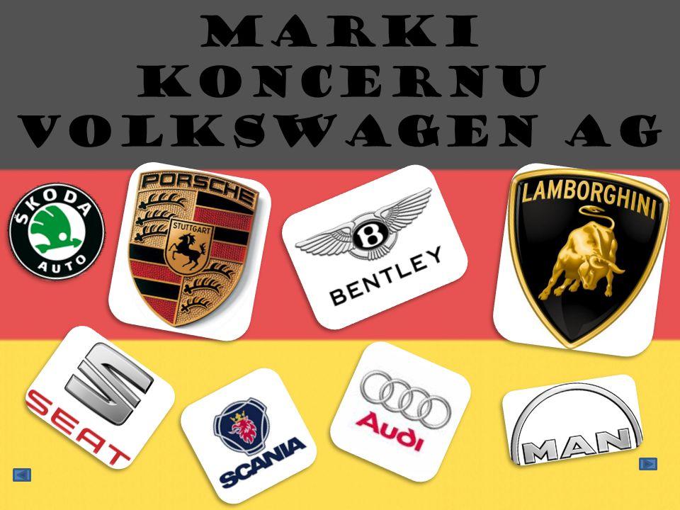 Marki koncernu Volkswagen AG