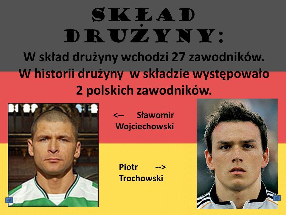 SKŁAD DRUzYNy: W skład drużyny wchodzi 27 zawodników. W historii drużyny w składzie występowało 2 polskich zawodników.