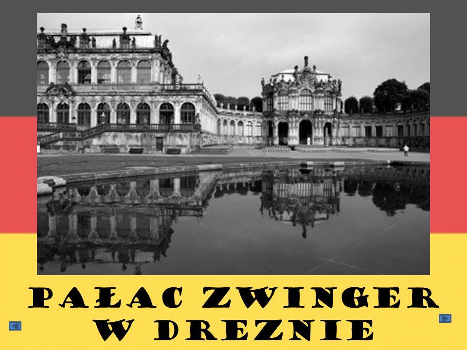 Pałac Zwinger w Dreznie