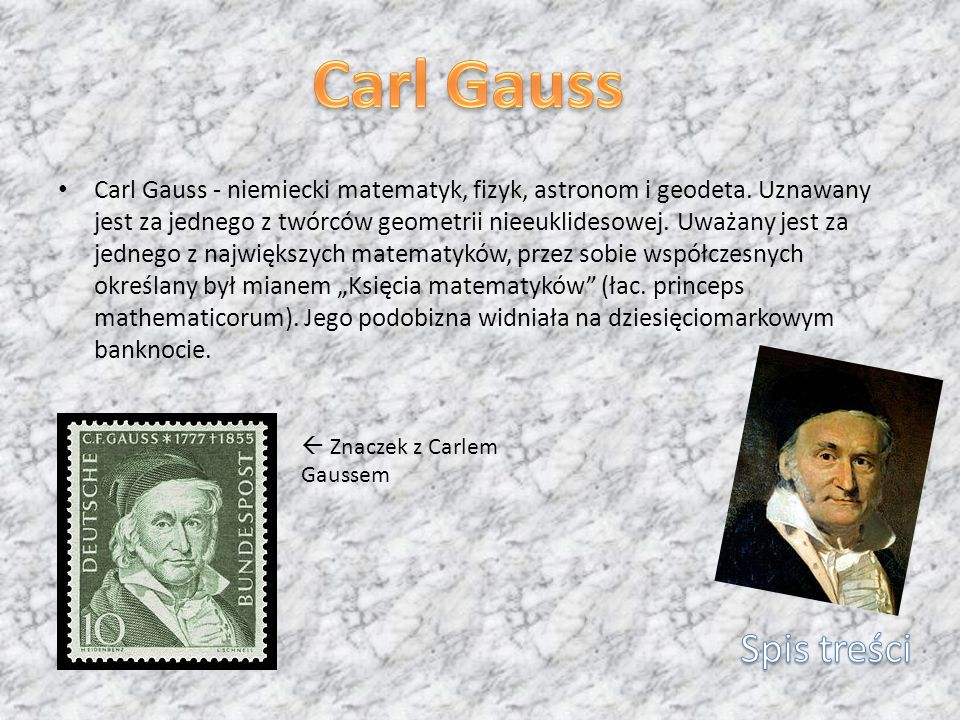 Carl Gauss