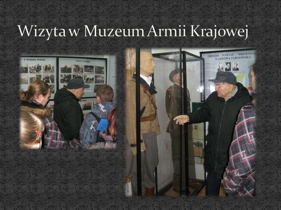 Wizyta w Muzeum Armii Krajowej