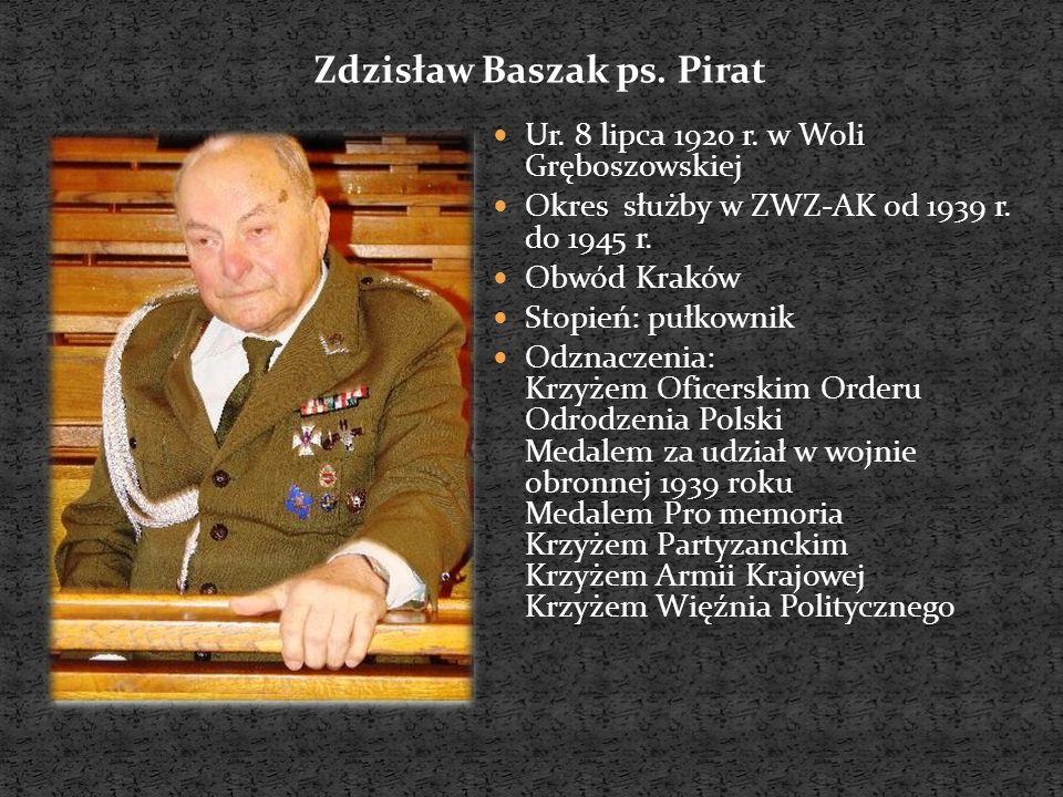 Zdzisław Baszak ps. Pirat