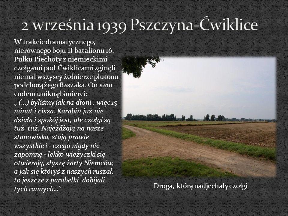 2 września 1939 Pszczyna-Ćwiklice