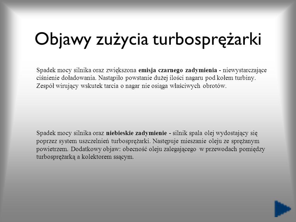 Objawy zużycia turbosprężarki