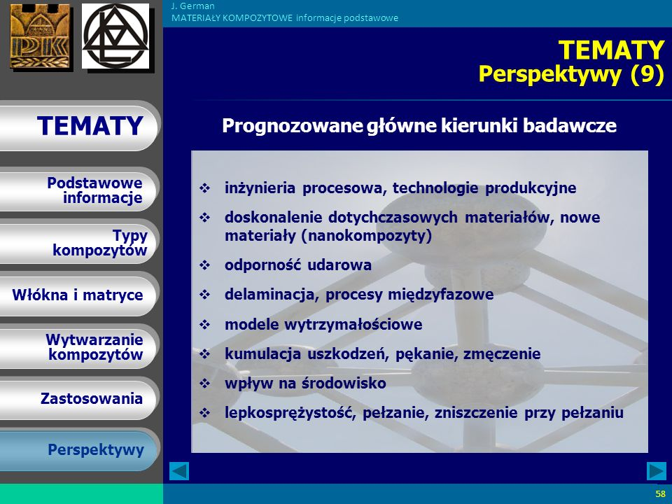 Prognozowane główne kierunki badawcze
