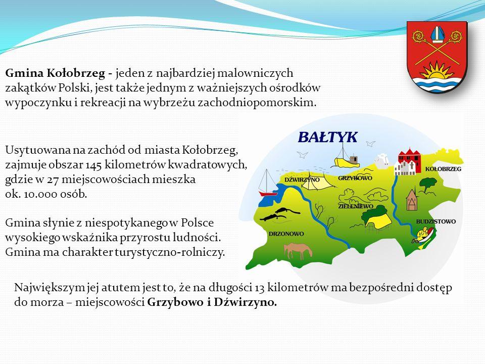 Gmina Kołobrzeg - jeden z najbardziej malowniczych