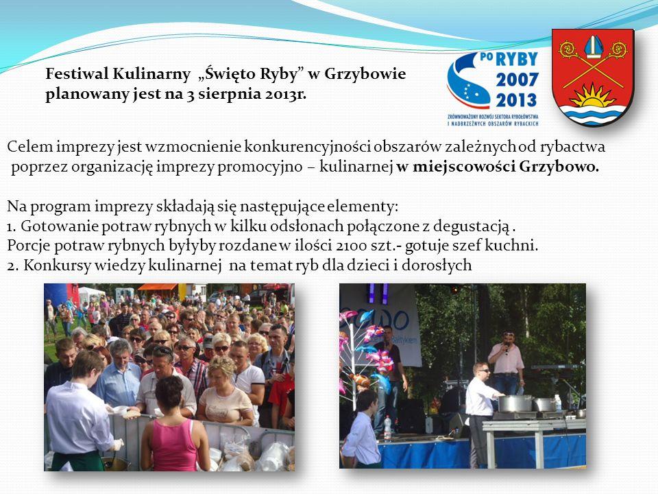 """Festiwal Kulinarny """"Święto Ryby w Grzybowie"""
