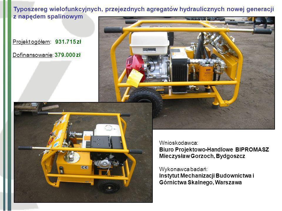 Typoszereg wielofunkcyjnych, przejezdnych agregatów hydraulicznych nowej generacji