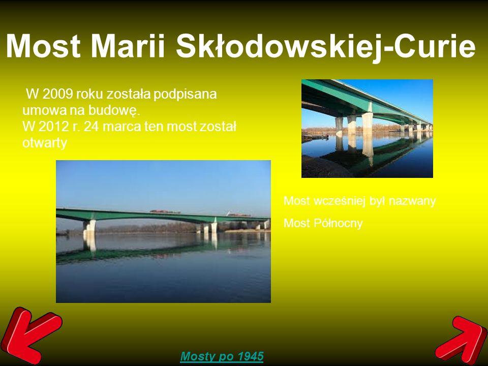 Most Marii Skłodowskiej-Curie