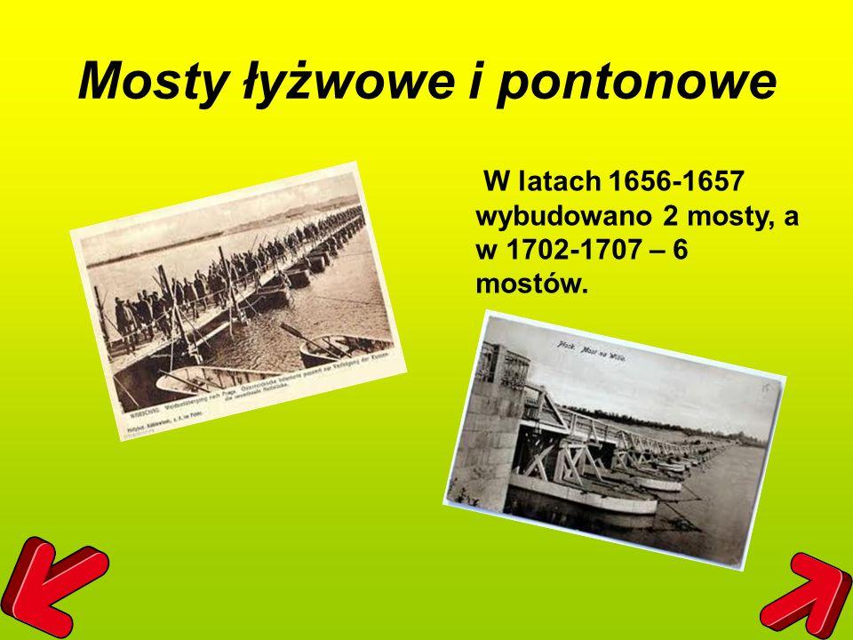 Mosty łyżwowe i pontonowe