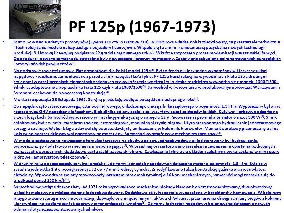 PF 125p (1967-1973)