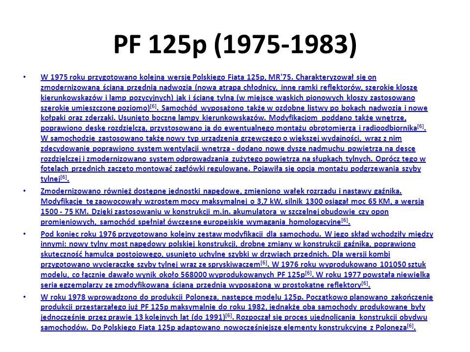 PF 125p (1975-1983)
