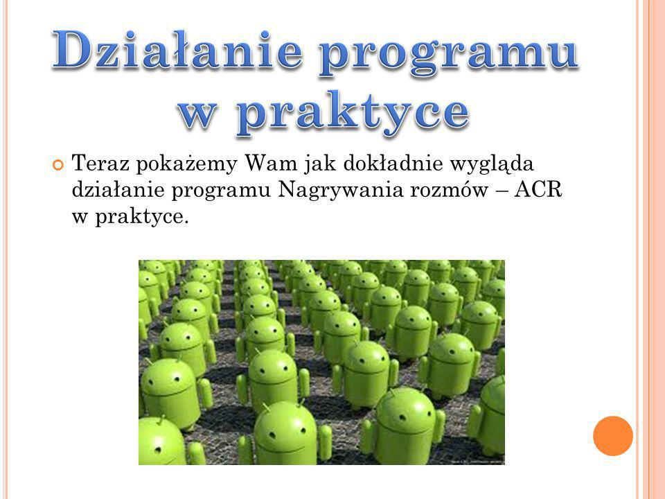 Działanie programu w praktyce