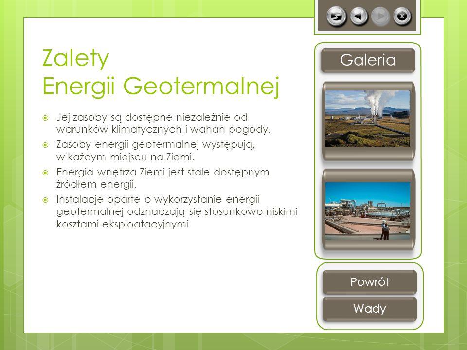 Zalety Energii Geotermalnej