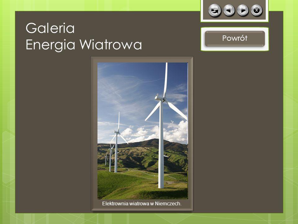 Elektrownia wiatrowa w Niemczech.