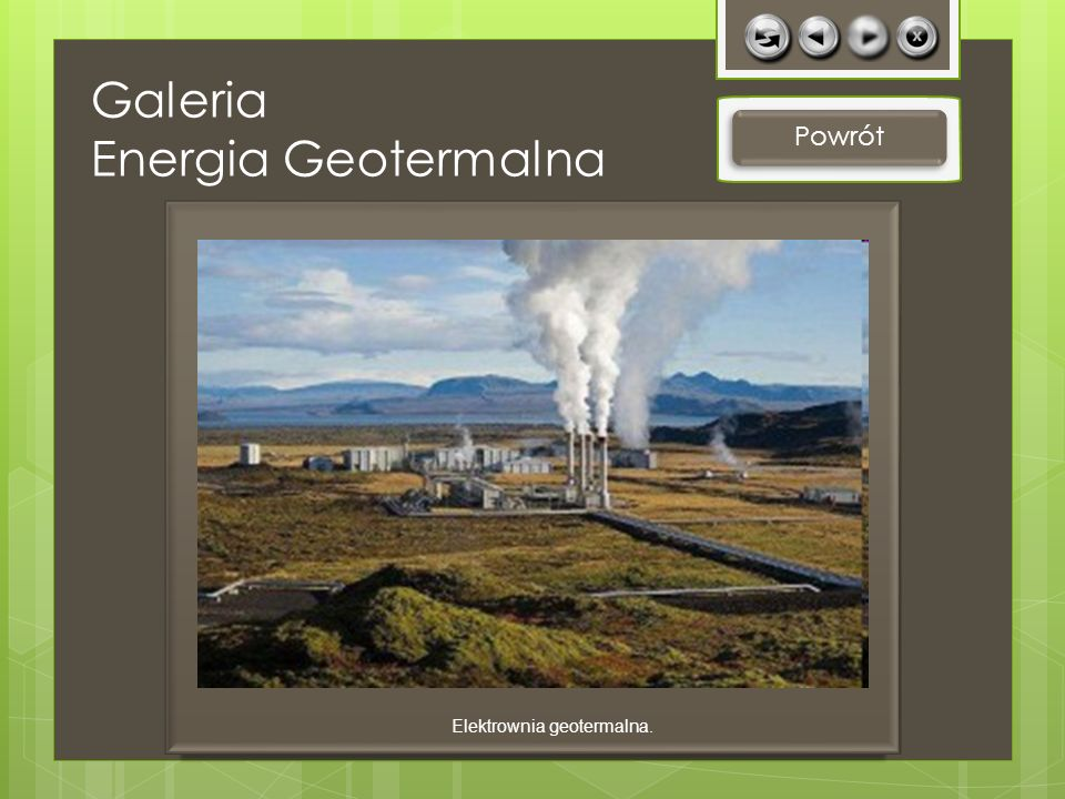 Galeria Energia Geotermalna