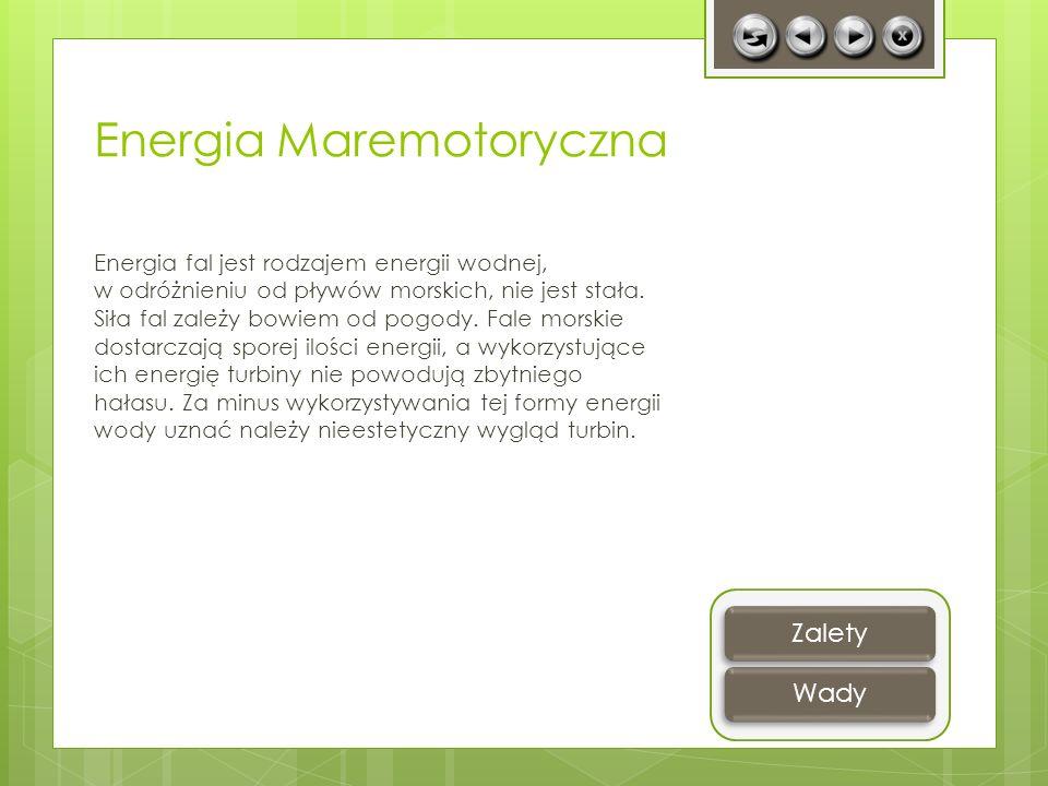 Energia Maremotoryczna