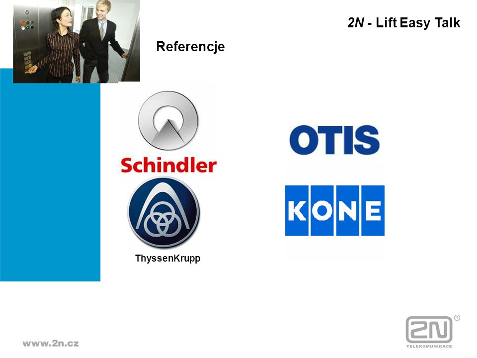 2N - Lift Easy Talk Referencje ThyssenKrupp