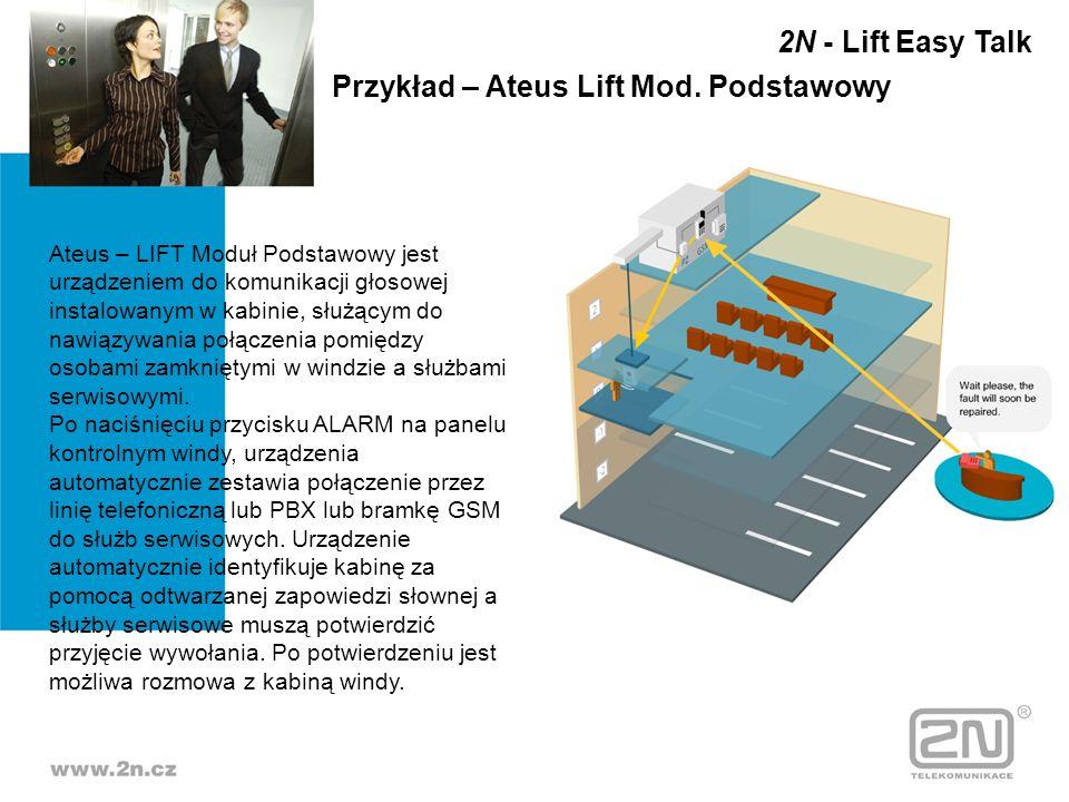 Przykład – Ateus Lift Mod. Podstawowy