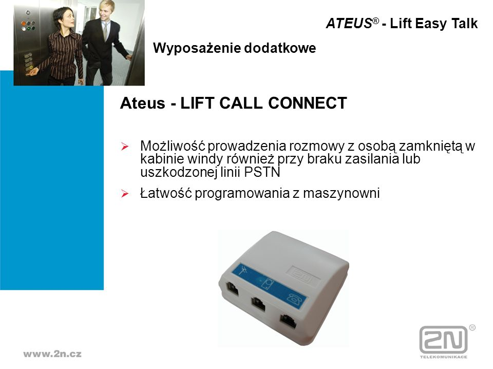 Ateus - LIFT CALL CONNECT