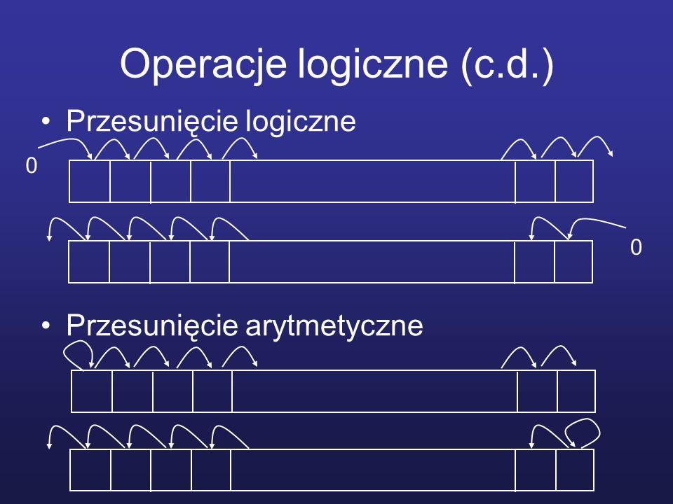 Operacje logiczne (c.d.)