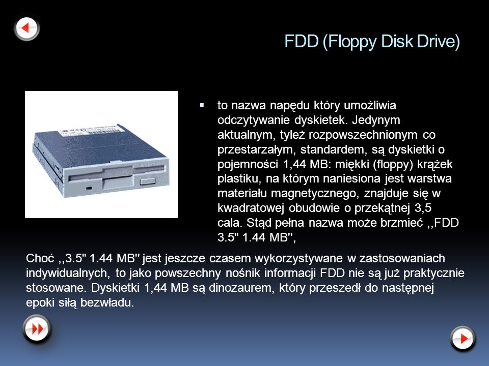 FDD (Floppy Disk Drive)