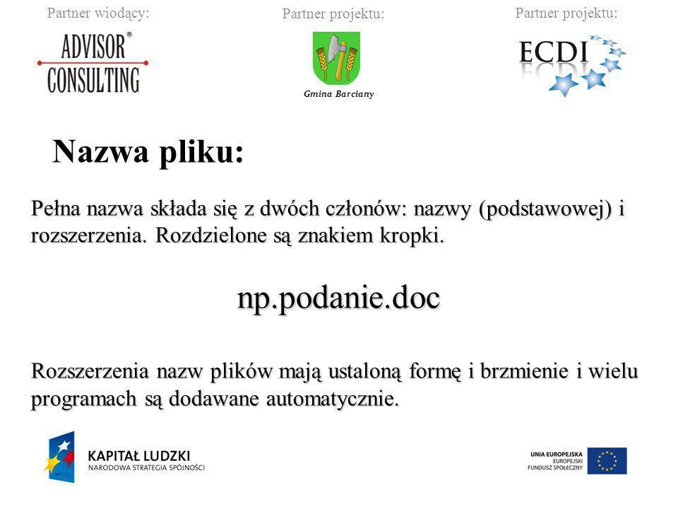 Nazwa pliku: np.podanie.doc