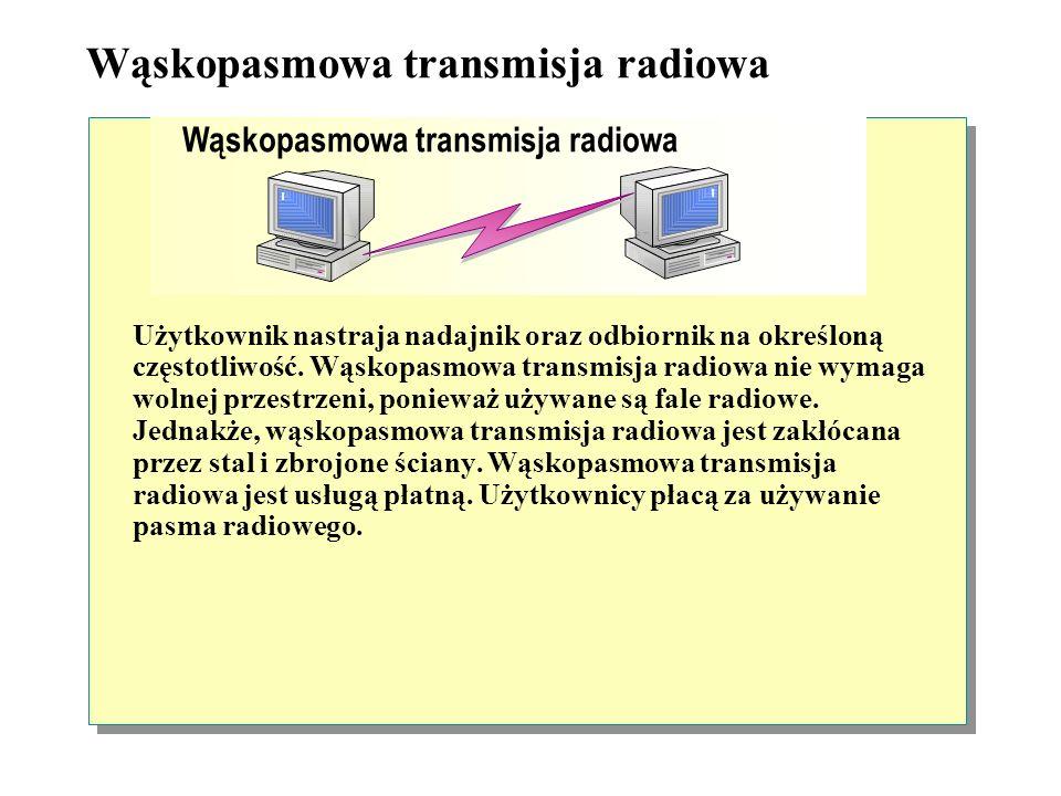 Wąskopasmowa transmisja radiowa