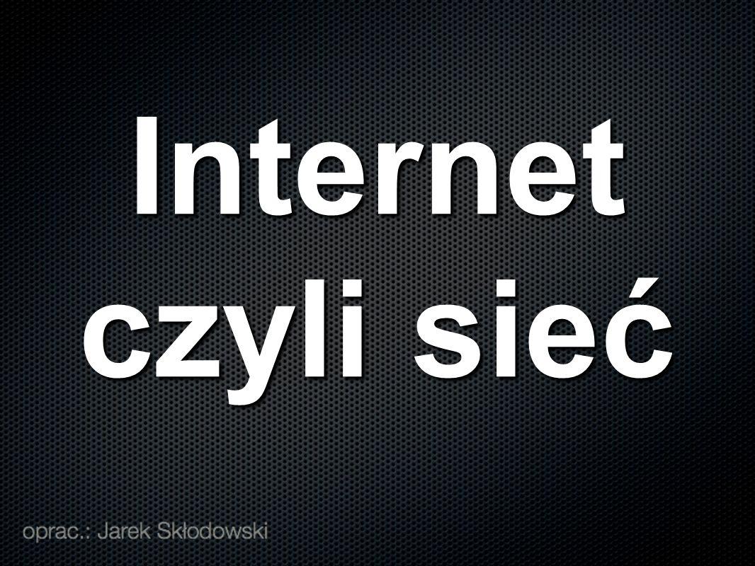 Internet czyli sieć