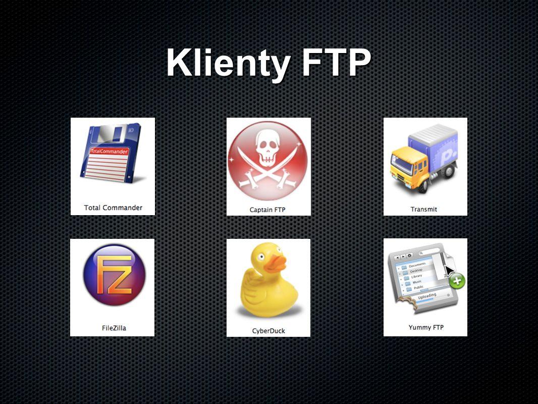 Klienty FTP