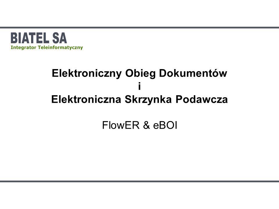 Elektroniczny Obieg Dokumentów i Elektroniczna Skrzynka Podawcza
