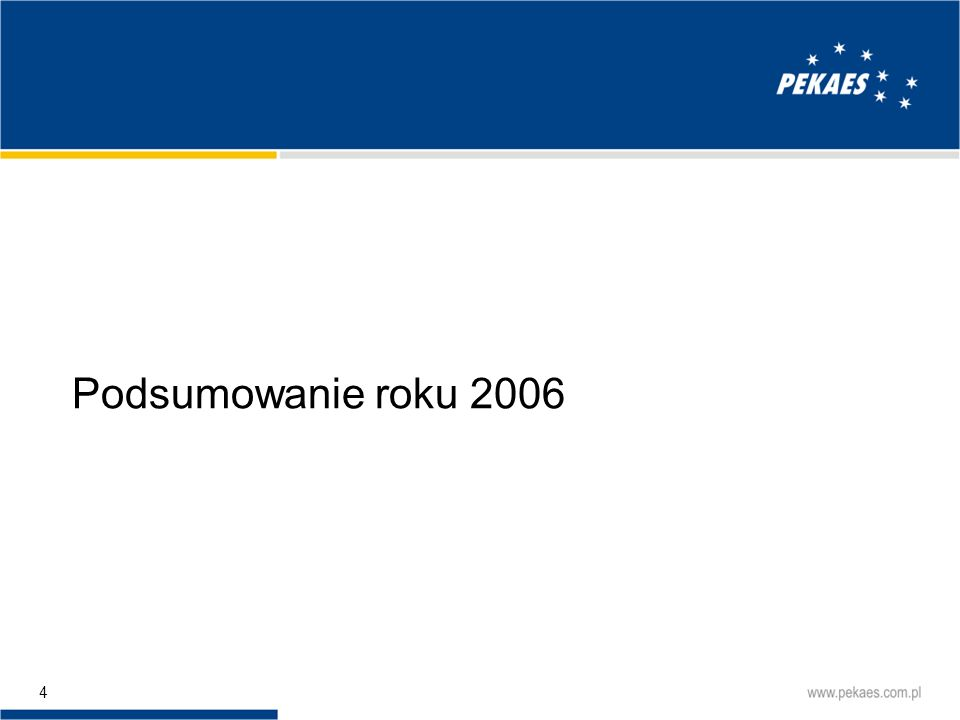 Podsumowanie roku 2006