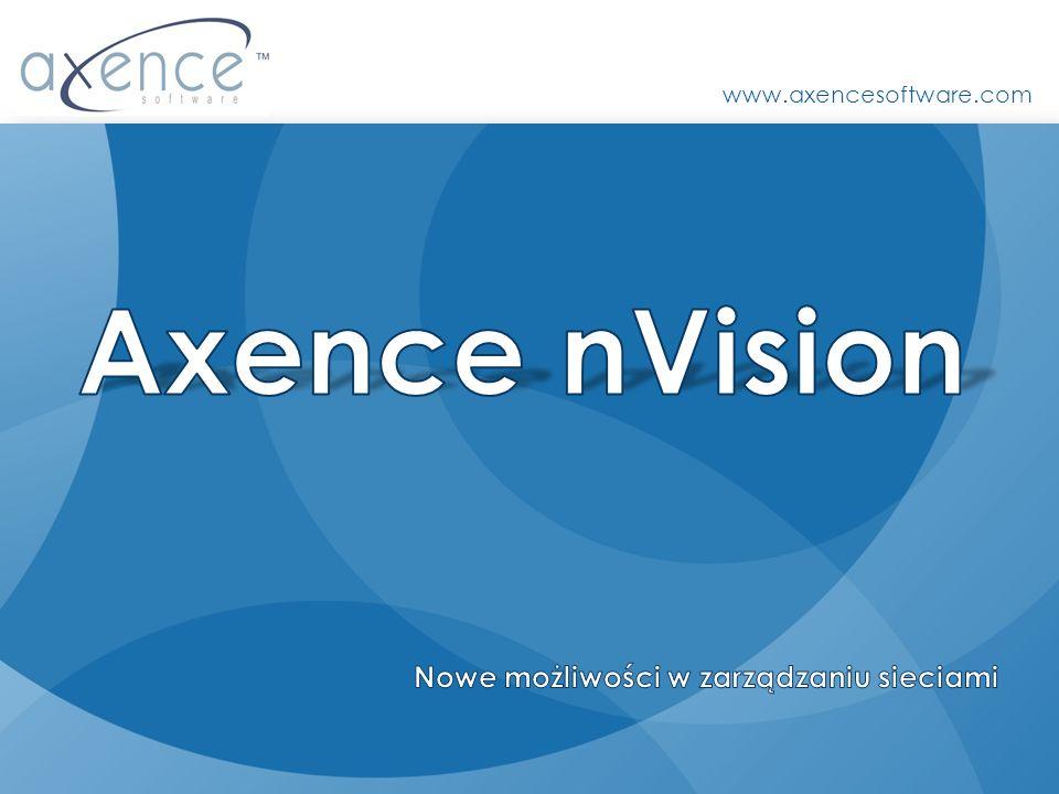 Axence nVision Nowe możliwości w zarządzaniu sieciami