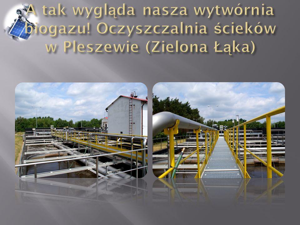 A tak wygląda nasza wytwórnia biogazu