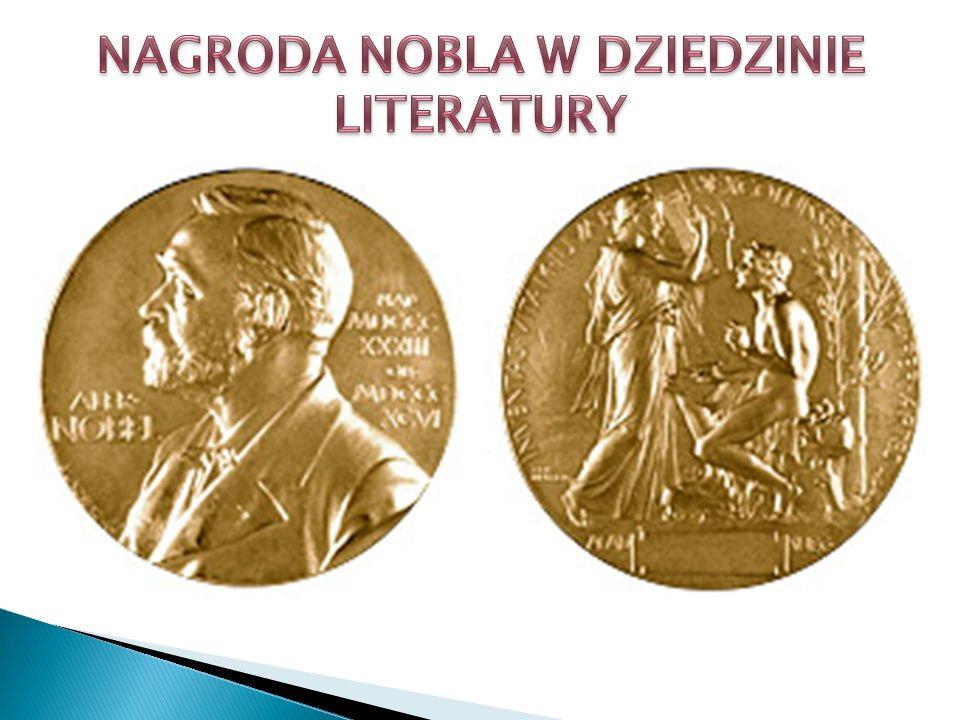 NAGRODA NOBLA W DZIEDZINIE LITERATURY