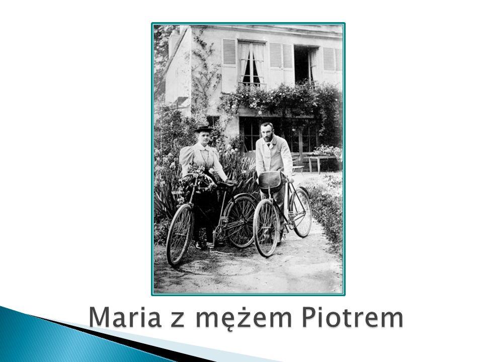 Maria z mężem Piotrem