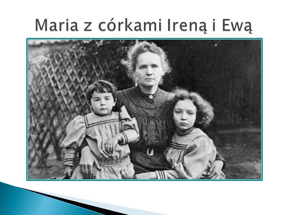 Maria z córkami Ireną i Ewą