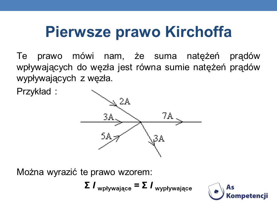 Pierwsze prawo Kirchoffa